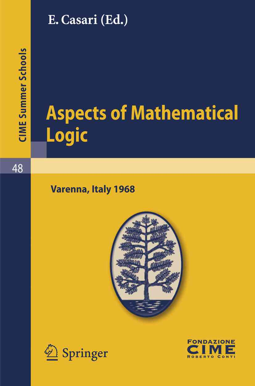 Aspects of Mathematical Logic By Casari, E. (EDT)